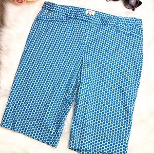 Laundry by Shelli Segal Bermuda Polka Dot Shorts